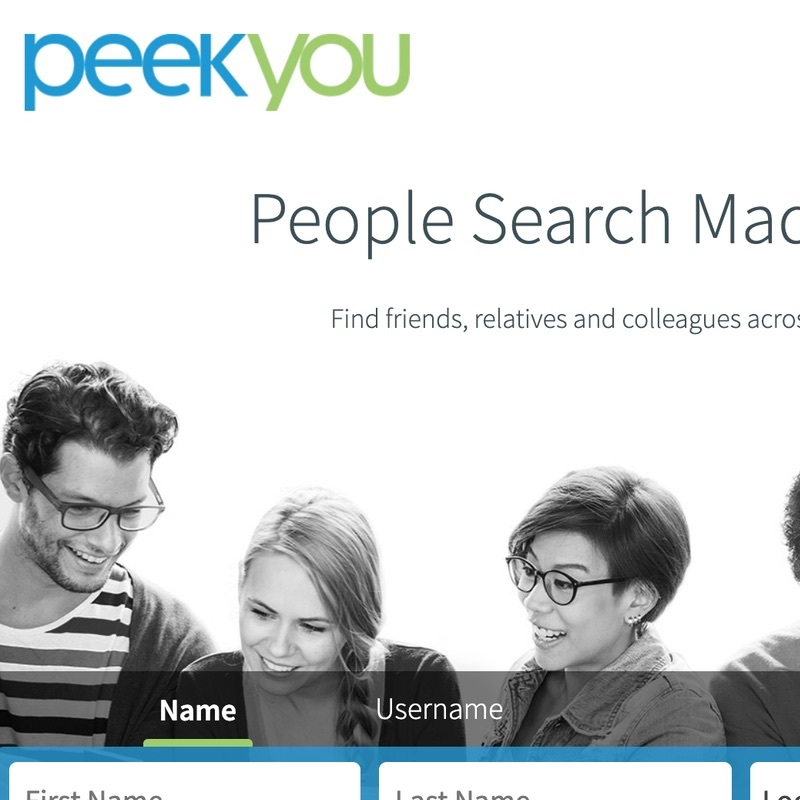Make your personal information disappear from PeekYou.