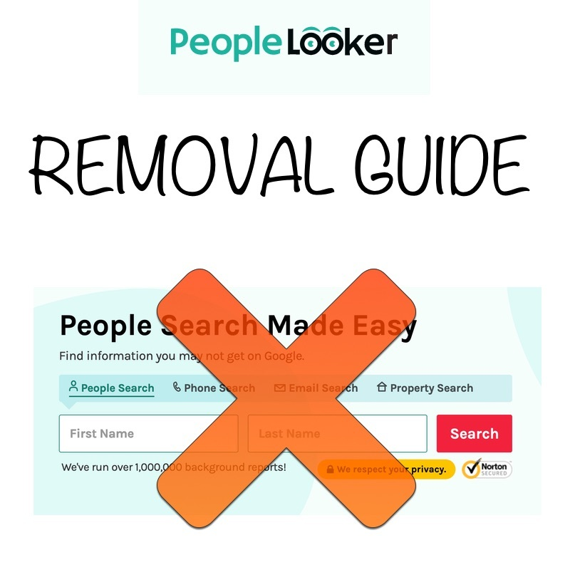 Deleting Your Profile From PeopleLooker's Service.