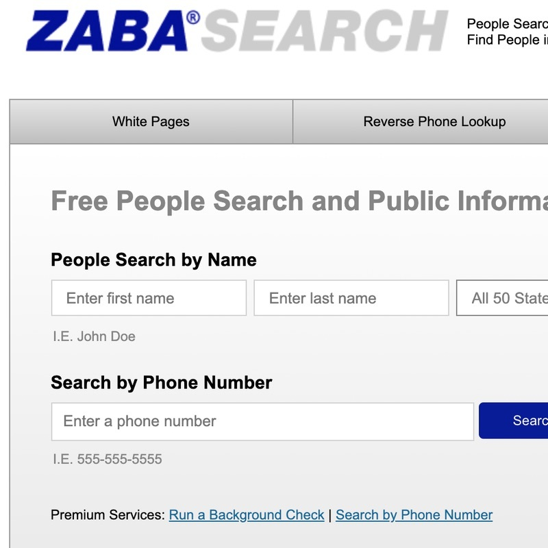 Delete Your Phone Number From ZabaSearch Guide.