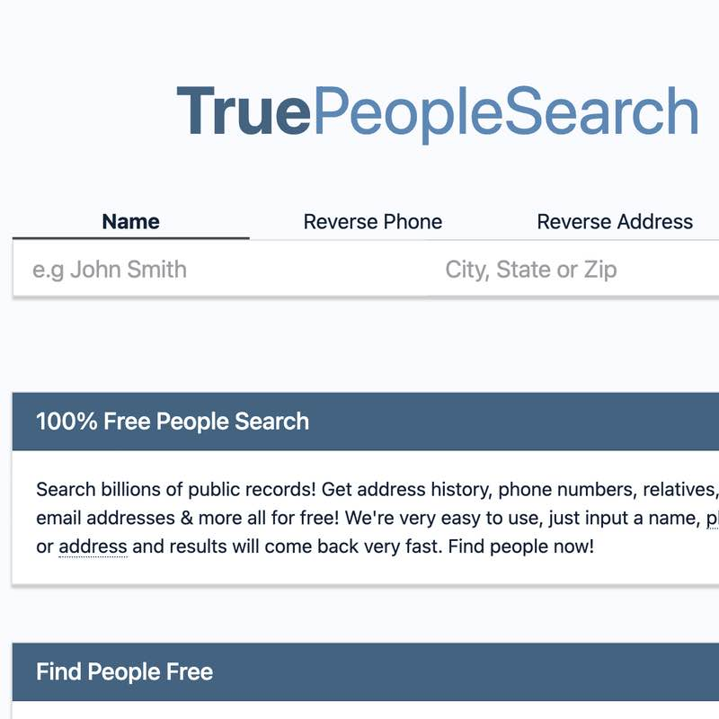 Permanently Delete Your Phone Number From TruePeopleSearch Search Engine.