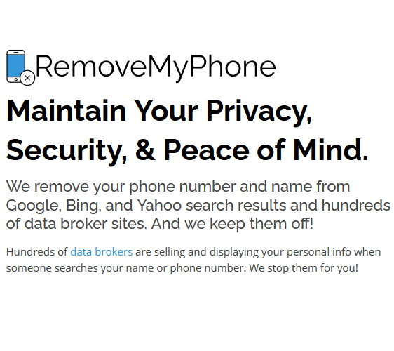 RemoveMyPhone Introduces a New Service to Fight Back Against Hundreds of Data Broker Sites That Expose Your Personal Information.